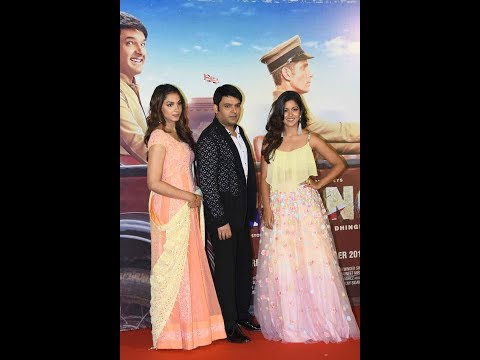 Kapil Sharma and Ishita Dutta Shines At Firangi Trailer Launch
