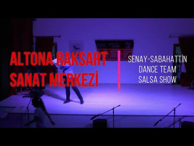 Altona Raksart Yıl Sonu Gösterisi 2018 - Senay - Sabahattin Dance Team Salsa Show
