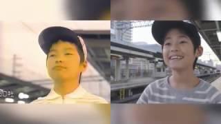 阪神電車のCM『僕の街の阪神電車』の1990年代版と2017年版の比較です。