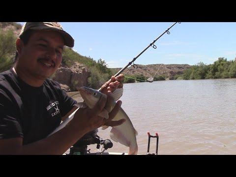 Fishing The Rio Grande Below Caballo Dam
