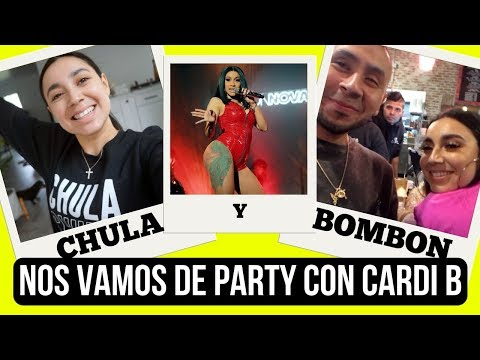 NOS VAMOS DE PARTY CON CARDI B