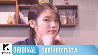 Spot Interview(좌표 인터뷰): IU(아이유)_Palette(팔레트)