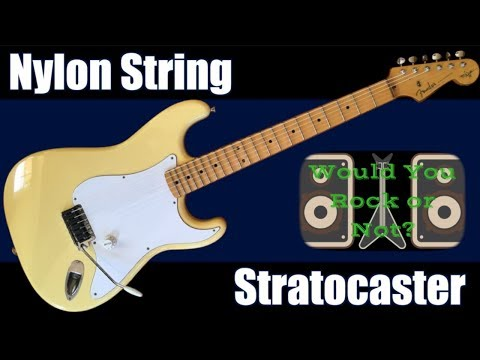 This Strat is CRAZY! | 1996 Nylon String Fender Stratocaster Yngwie Malmsteen Signature | WYRON 194
