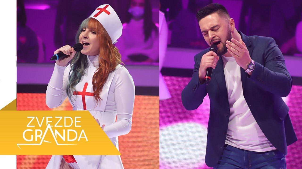 Dana Basic i Elsan Pilica - Splet pesama - (live) - ZG - 20/21 - 03.04.21. EM 61