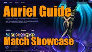 Heroes of the Storm - Auriel Guide - Match Showcase