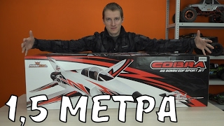 Фото с обложки Самолет 1,5 Метра На 8s Lipo .... Cobra Sport Jet