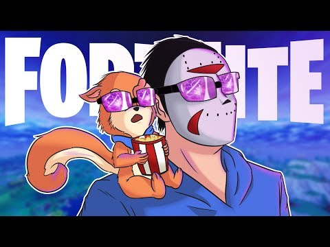 OUR CUBE EVENT REACTION - FORTNITE w/ H2oDelirious