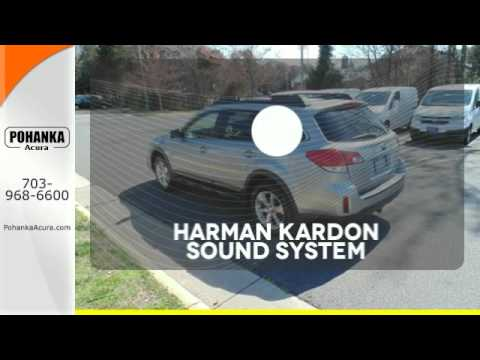 Used 2013 Subaru Outback Alexandria VA Acura Washington-DC, DC #GL017010A - SOLD