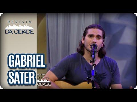 Gabriel Sater - Revista da Cidade (19/01/17)