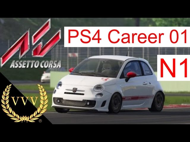 Assetto Corsa PS4 Career 01 - N1 Series