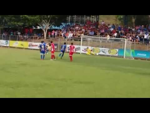 Jessi Ruiz gol de penal - Jicaral Sercoba (2) vrs Palmares (2)