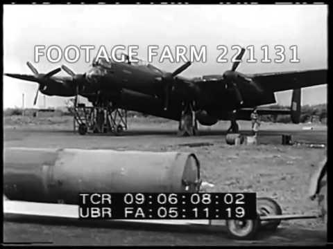 Bombing of Dresden Pt1/2  221131-01 | Footage Farm