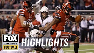 Utah vs Colorado | Highlights | FOX COLLEGE FOOTBALL