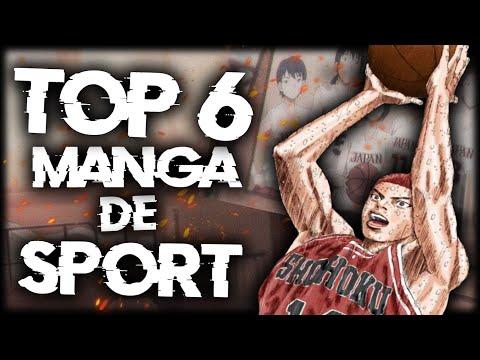 6 MEILLEURS MANGA DE SPORT - TOP MANGA - Feat@Yams