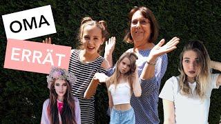 OMA errät das ALTER von YOUTUBERN und INFLUENCERN | Nini Flash