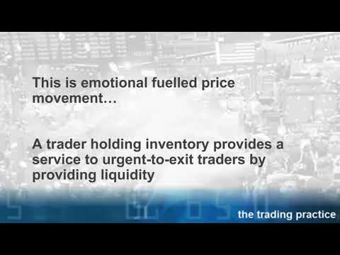 How Professional Traders Provide Liquidity for Urgent Exiting Traders