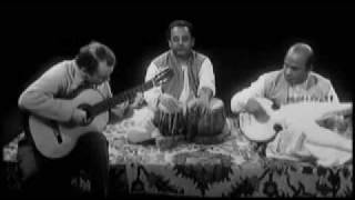 Julian Bream in India (1963) Improvisation with Ali Akbar Khan On Sarod