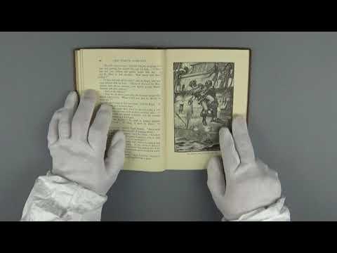 Turning page binaural sound 3 - ASMR - vintage old British book no talking