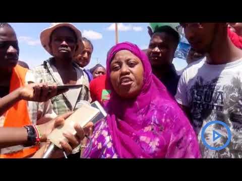 Residents of Maungu, Taita Taveta protest over dust pollution