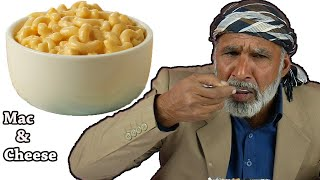 Tribal People Try Mac & Cheese