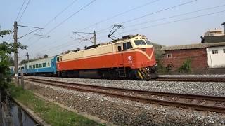 6123次迴送列車通過大林鎮中興路地下道