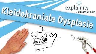 Kleidokraniale Dysplasie einfach erklärt (explainity® Erklärvideo)