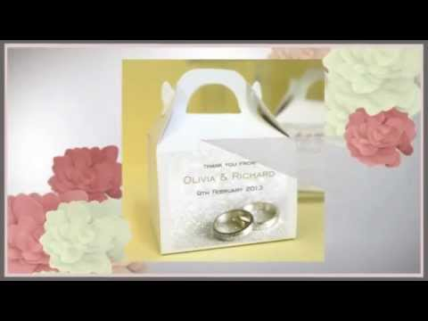 Uber Kids Design - Personalised Wedding Favour Boxes