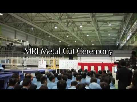 MRJ Metal Cut Ceremony