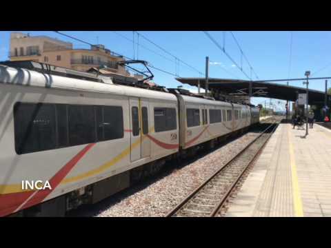Railways of Spain, Majorca. Palma metro and main line services to Sa Pablo and Manacor.
