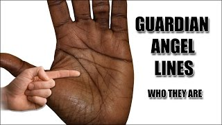 GUARDIAN ANGEL LINES: Female Palm Reading Palmistry #105