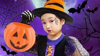 어린이 만화 영화에 나오는 캐릭터로 할로윈 페이스페인팅 놀이를 해봐요 ~ Hotel Transylvania 3 Halloween Costumes Toys and Makeup