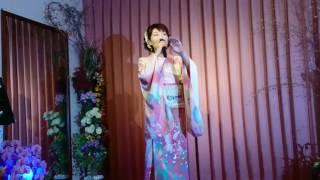 大沢桃子 すずらんの道  本人映像  カラオケ喫茶花にて  2017年8月8日