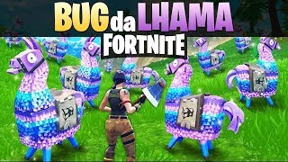 WIE TRIPLICAR YOU RESOURCES DA LHAMA DO FORTNITE ? BUG GLITCH EXPLOIT