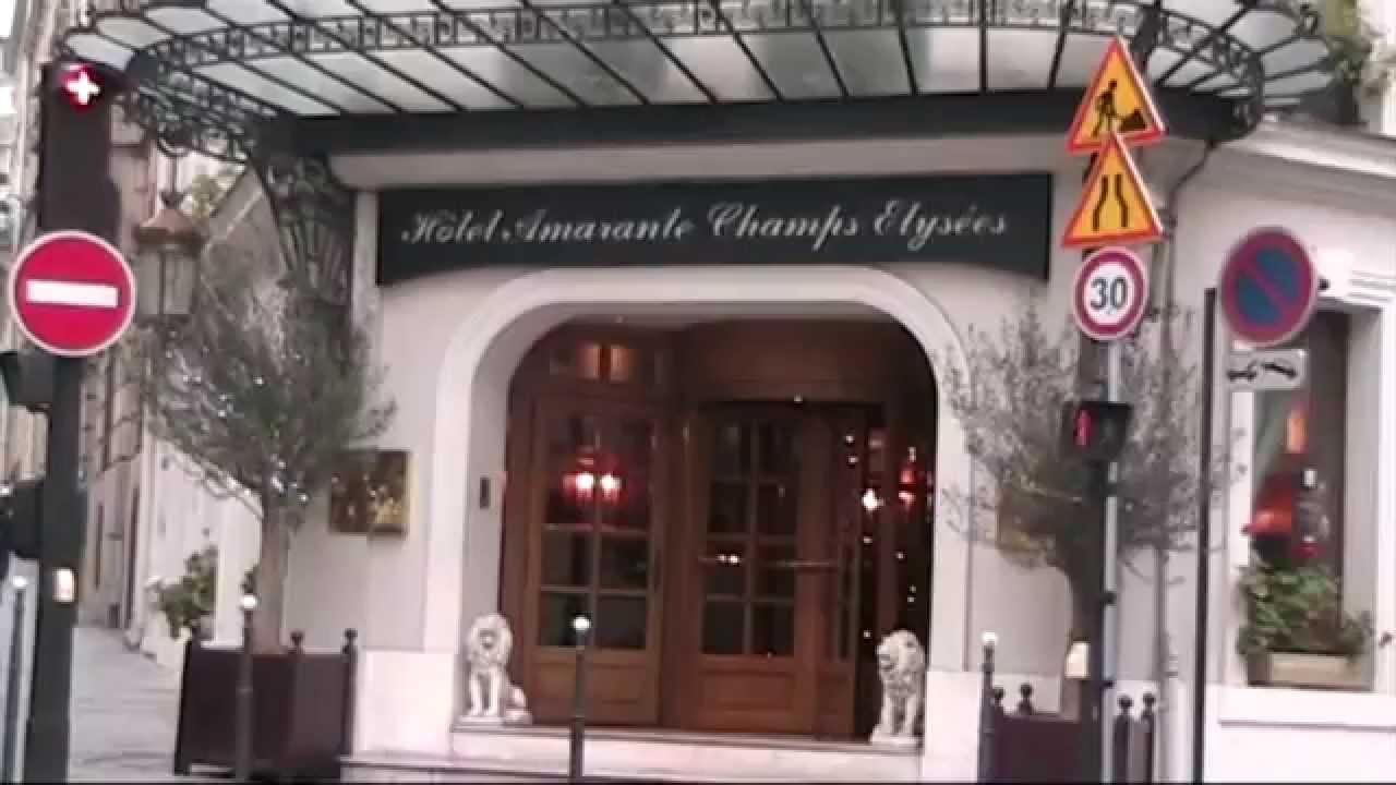 Hotel Des Champs Elysees Paris Hotel Amarante Champs Elysaces Youtube