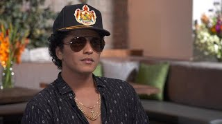 Preview: Bruno Mars on performing in front of famous musicians