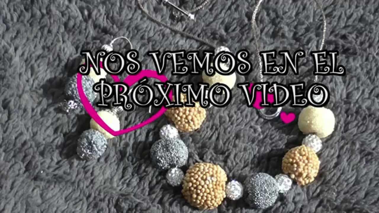 0512ce6c942c DIY COMO HACER CUENTAS PARA TUS COLLARES Y PULSERAS - YouTube