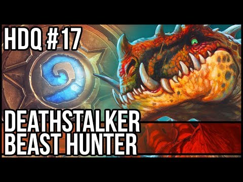 Deathstalker Rexxar Midrange Beast Hunter - Hearthstone Daily Quests #17