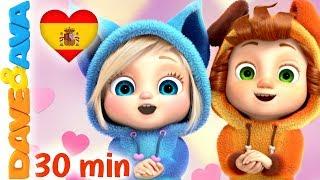 💌 Skidamarink   Canciones Infantiles   Videos para Bebés   Dave y Ava 💌