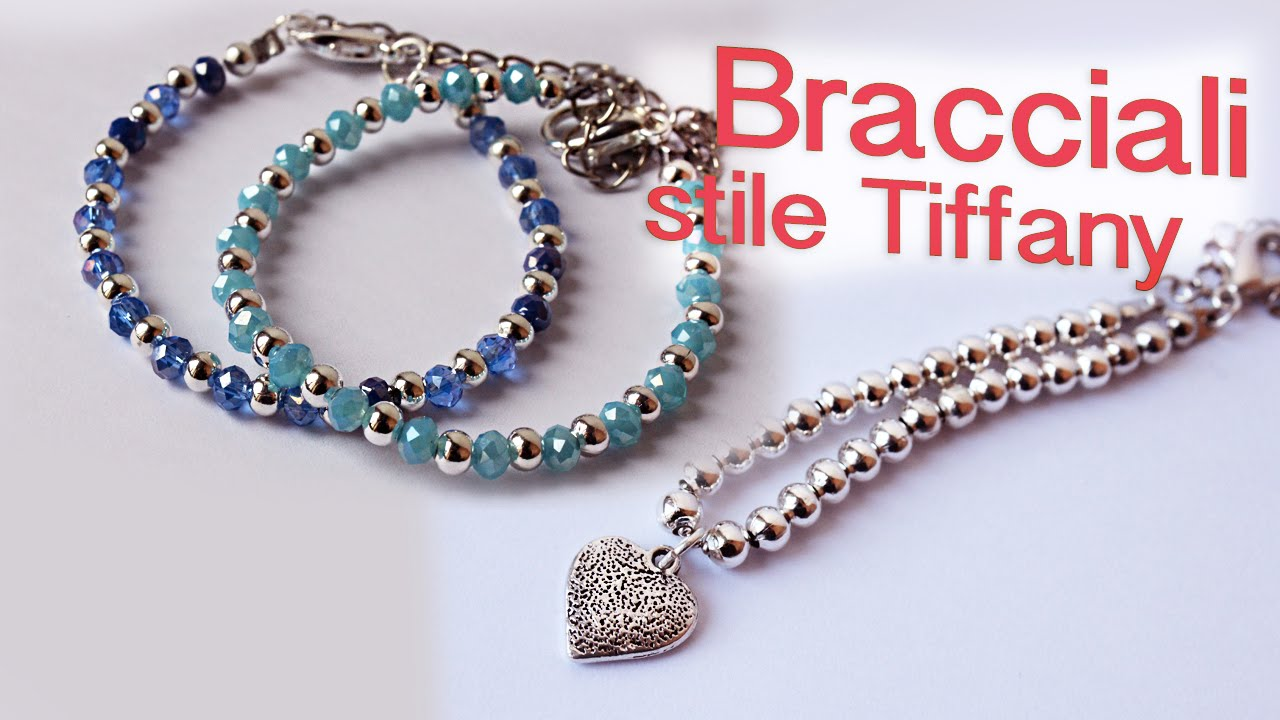 Molto Bracciale Tiffany fai da te - Bracciali stile Pandora e ultime  YU13