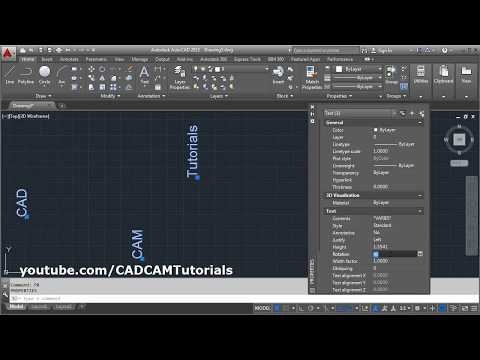 autocad-rotate-multiple-text-in-place-|-autocad-rotate-all-text-180-degrees