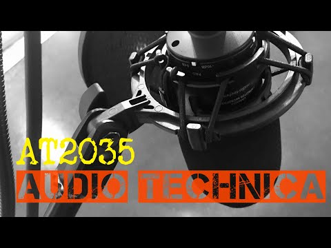 Audio Technica AT2035 Unboxing and Review