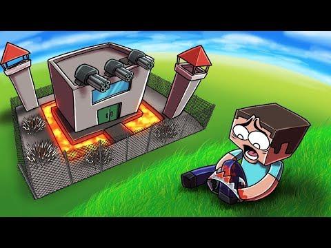 Minecraft | WORLDS MOST TOP SECRET BASE - Break in Challenge! (Secure Base)