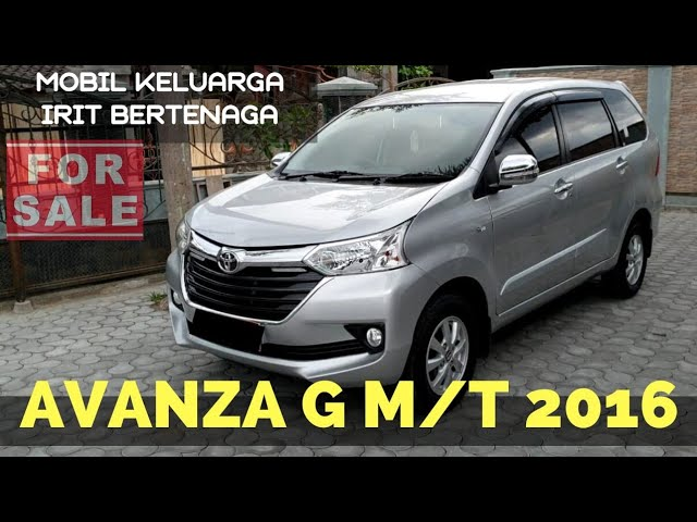 Jual Toyota Avanza G 2016 M T Detail Unit Pajak Harga Dan Nomor Hp Ada Dalam Vidio Youtube