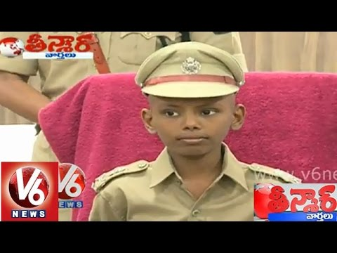 'Sadiq' a ten year old cancer patient becomes Hyderabad Police Commissioner - Teenmaar News