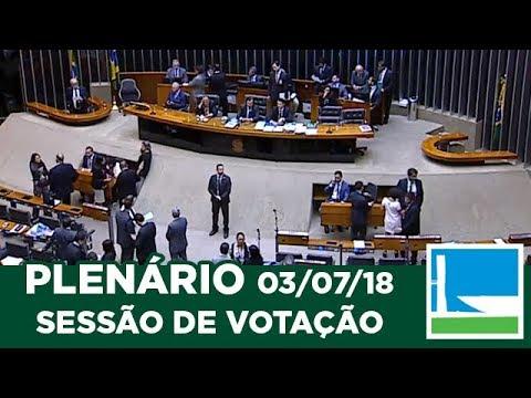 PLENÁRIO - Sessão Deliberativa - 03/07/2018 - 19:01