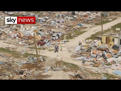 The town forgotten in the aftermath of Hurricane Dorian