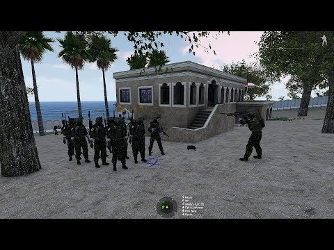 RESCUE MISSION | JOIN OPERATION INDONESIA ARMY | ARMA 3 | JOS - TASK FORCE GARUDA