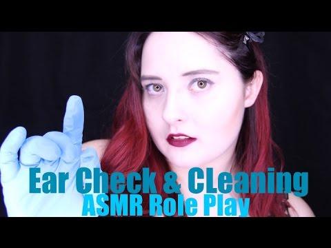 ASMR Ear Check & Cleaning Role Play 👂 Soft Spoken (Binaural 3Dio Sound)