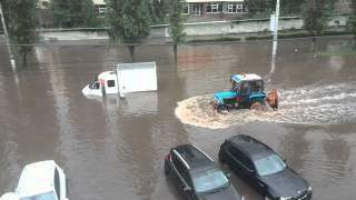 Потоп. Липецк. 24.06.2015 ул. Космонавтов