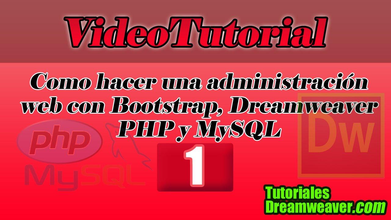 Capítulo 1 - Cómo hacer una administración web con Bootstrap ...